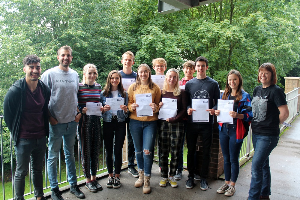 QEGS sixth form students excel again!