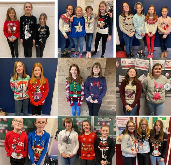 Christmas Jumper Day 2019 raised an amazing £898.48