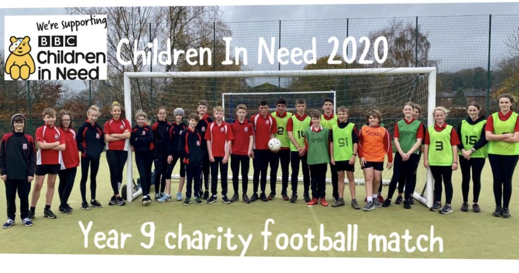 9yD Charity Football Match
