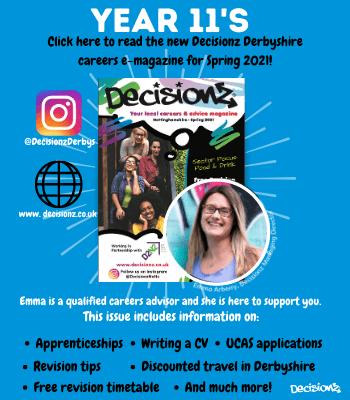 Decisionz Spring 2021 E-Magazine for Derbyshire