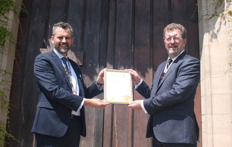 Derbyshire Beacon of Hope Award